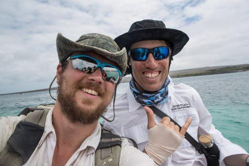 צוות המדריכים, יואל שליין וחביאר פיקסה - Wild Travel
