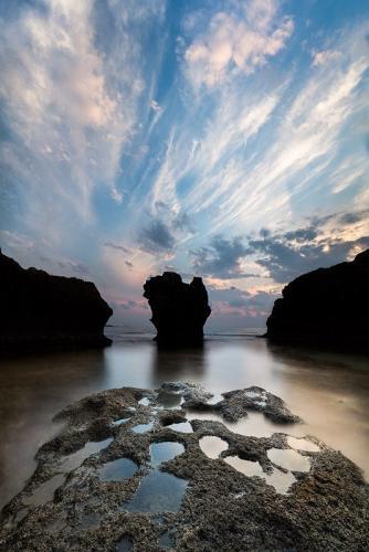 צילום שקיעה בחוף דור - Wild Travel