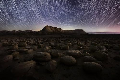 צילום שבילי כוכבים בהר צין - Wild Travel