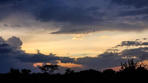 שקיעה בשמורת קווין אליזבט, אוגנדה - Wild Travel